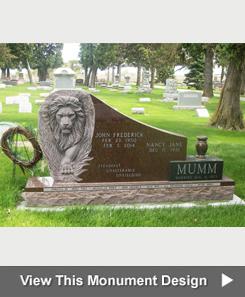 Iowa Illinois Cemetery Granite Memorial Benches Cremation